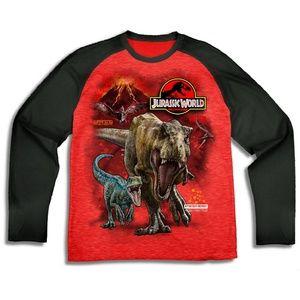 Jurassic World Park Volcano Long Sleeve T-Shirt